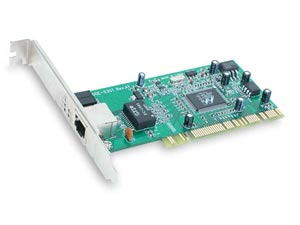 D-Link DGE-530T Gigabit Ethernet Adapter, PCI Bus, 32 Bit,